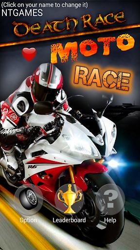 【免費賽車遊戲App】Moto Death Race HD-APP點子