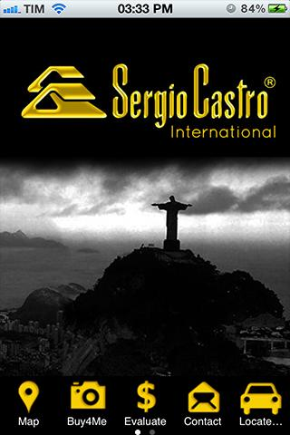 Sergio Castro International- screenshot