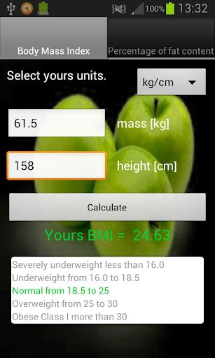 BMI Fat Calculator