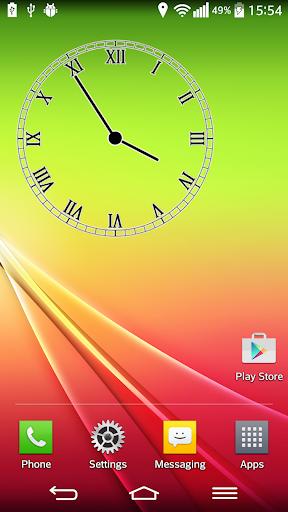 トランスペアレント アナログ時計