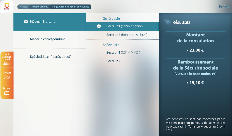 Mon Mémo Pro Harmonie Mutuelle - screenshot