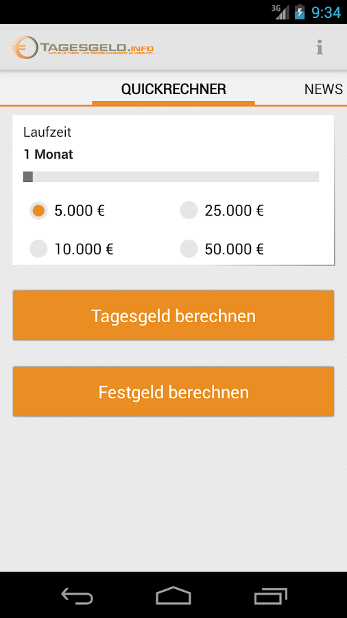Tagesgeld.info - screenshot