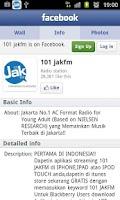 Screenshot of 101 Jak fm