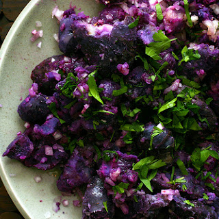 Purple Potatoes Recipes.