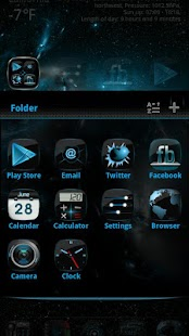 Newcentury GO LauncherEX Theme - screenshot thumbnail