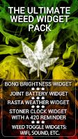 Screenshot of Weed Widget Pack