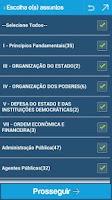 Screenshot of TaNaMao PRÓ Jurídico Concursos