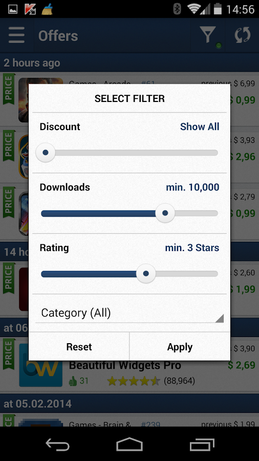 AppZapp - Top Apps & Sales- screenshot