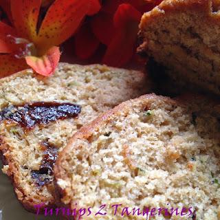 Zucchini Prune Bread