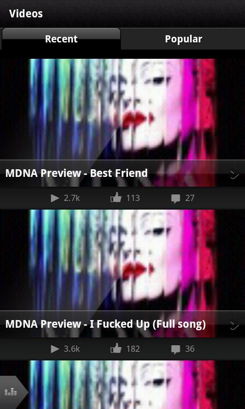 Madonna - screenshot