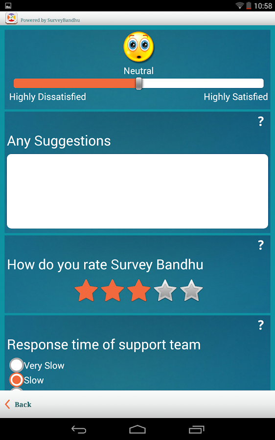 SurveyBandhu- screenshot