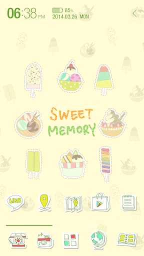 Sweet ice cream_아톰 봄 테마