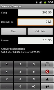 Percent Calculator  +- screenshot thumbnail