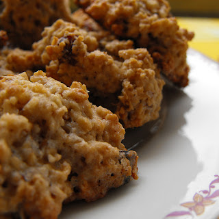 Oatmeal and Raisin Cookies.