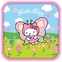 Hello Kitty Butterfly Theme icon