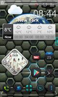 Screenshot of Next Shield 3D Live Wallpaper