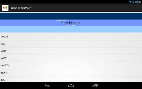 Ghana StockMate- screenshot thumbnail