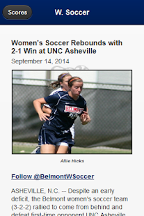 Belmont Bruins Front Row- screenshot thumbnail