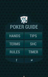 Poker terminology hands