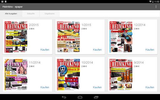 【免費新聞App】Heimkino - epaper-APP點子