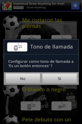 La botonera de Diego Maradona - screenshot