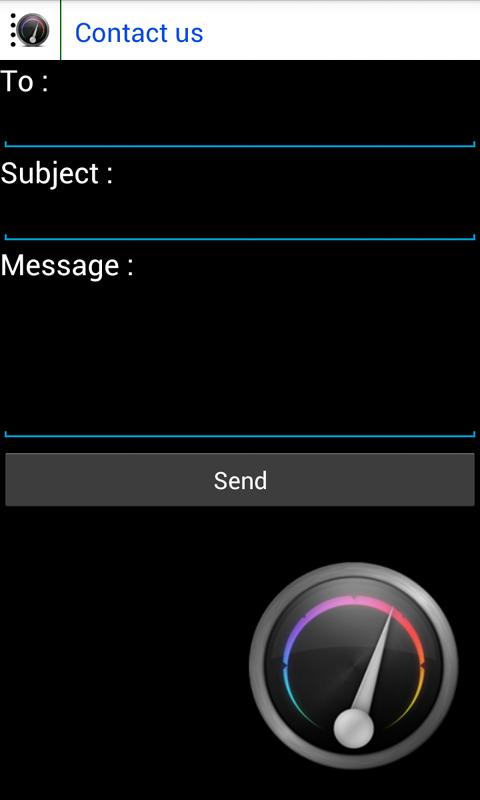 Speedometer- screenshot