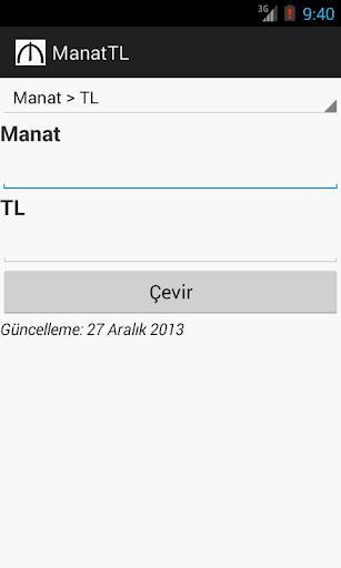 ManatTL Çeviri