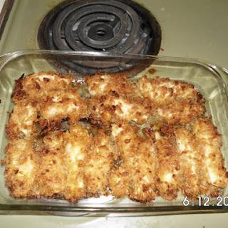 Crispy Onion Chicken Breast Tenders.