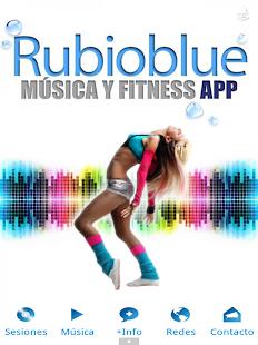 RUBIOBLUE Música y Fitness - náhled