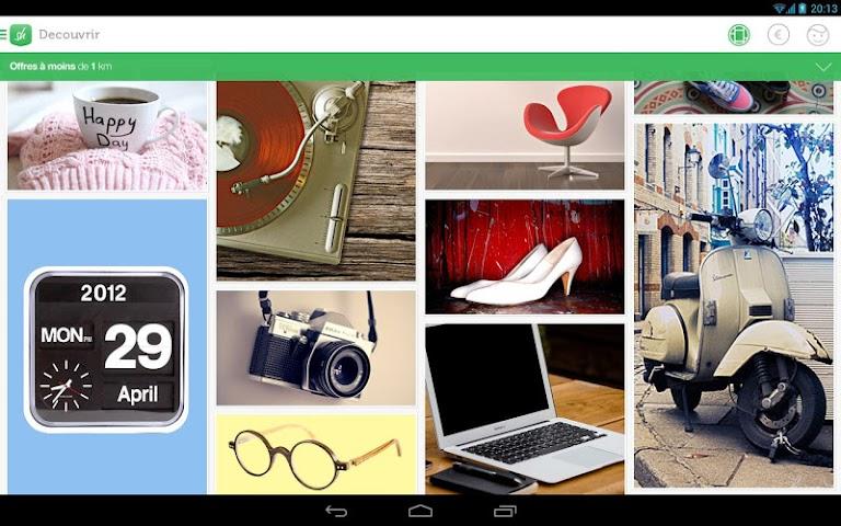 android Shpock Flohmarkt Kleinanzeigen Screenshot 0