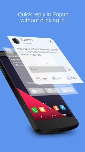 5 GO SMS Pro App screenshot