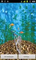 Screenshot of 3D Aquarium Full LWP