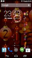 Screenshot of Chinese Fireworks Horse Lwp