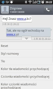 GO SMS Pro Polish language - screenshot thumbnail