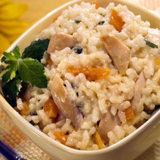 Chicken & Sage Risotto.