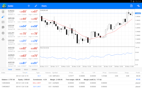MetaTrader 5 - screenshot thumbnail