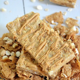 Vanilla Graham No Bake Granola Bars