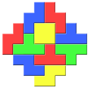 Colored Bricks Icon