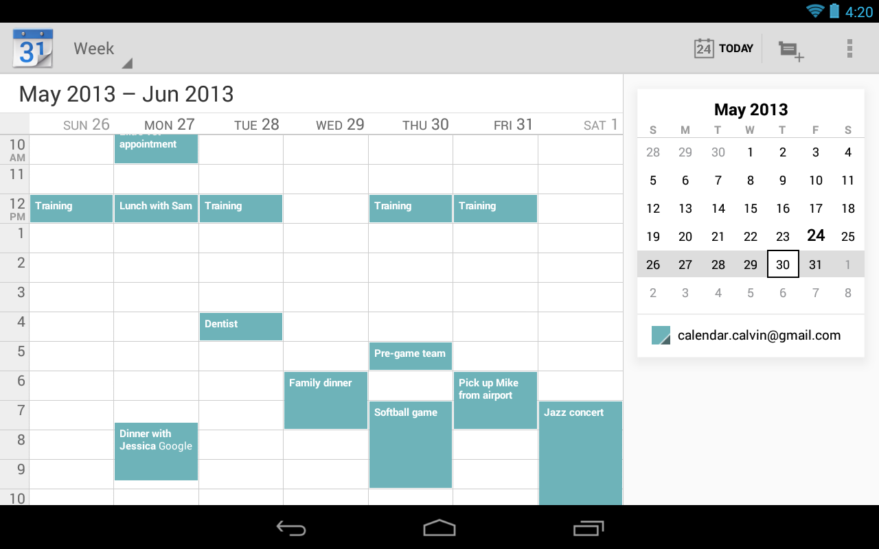 how to download google calendar app