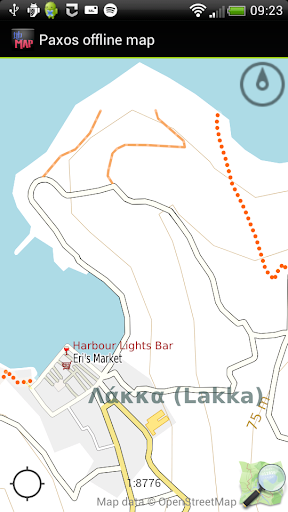 Paxos offline map