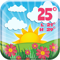 Cute Weather Forecast App icon