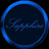 24Cr Sapphire Launcher Theme