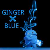 GingerBlueX CM7 theme