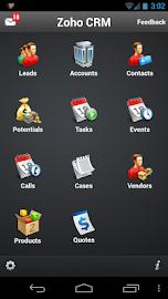 Zoho CRM Screenshot 1