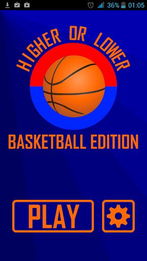 Higher or Lower: Basketball