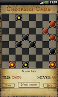 Screenshot of Checkers