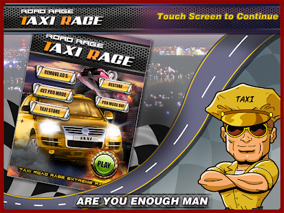 Taxi road rage