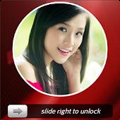 Lock screen slide