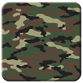 Woodland Camo Live Wallpaper