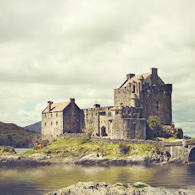 Eilean Donan Castle by Rita Drysdall - Buildings & Architecture Public & Historical ( scotland, fairy tale, eilean donan, scottish, castle, historic )